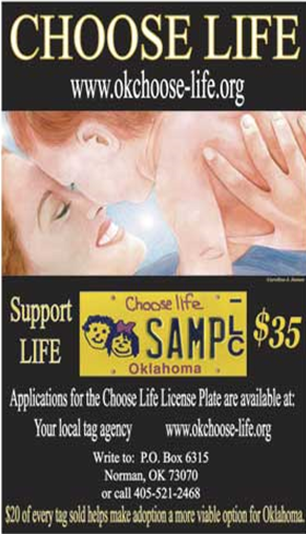 choose life logo